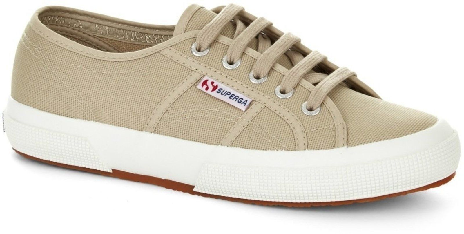 Superga 2750 Cotu Womens Trainers Beige Beige Moonlight - UK 5 (EU 38)