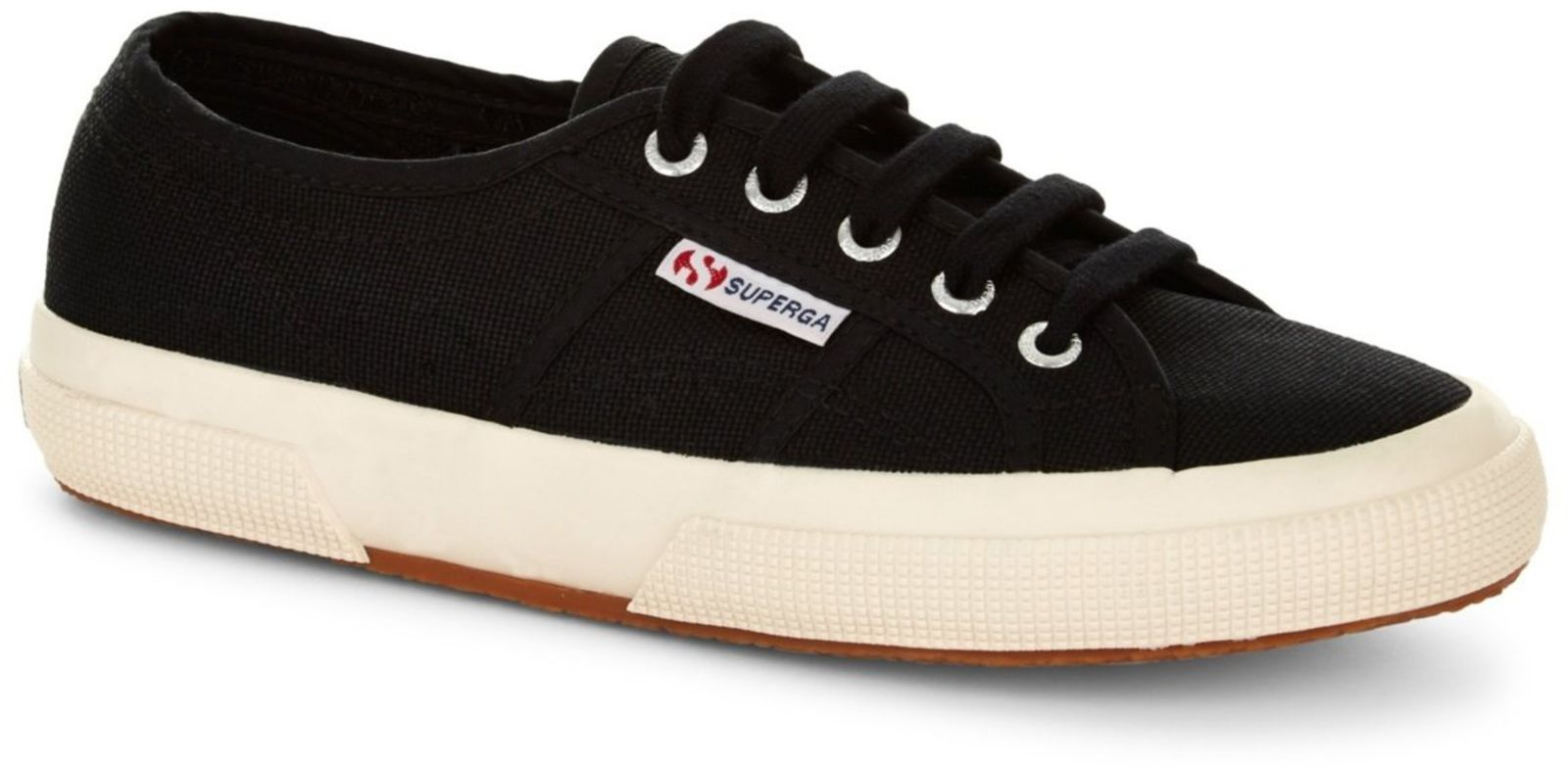 Superga 2750 Cotu Womens Trainers Black Black - UK 7.5 (EU 41.5)
