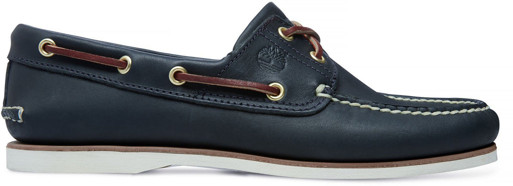 Timberland Classic 2-Eye Boat Shoes Blue