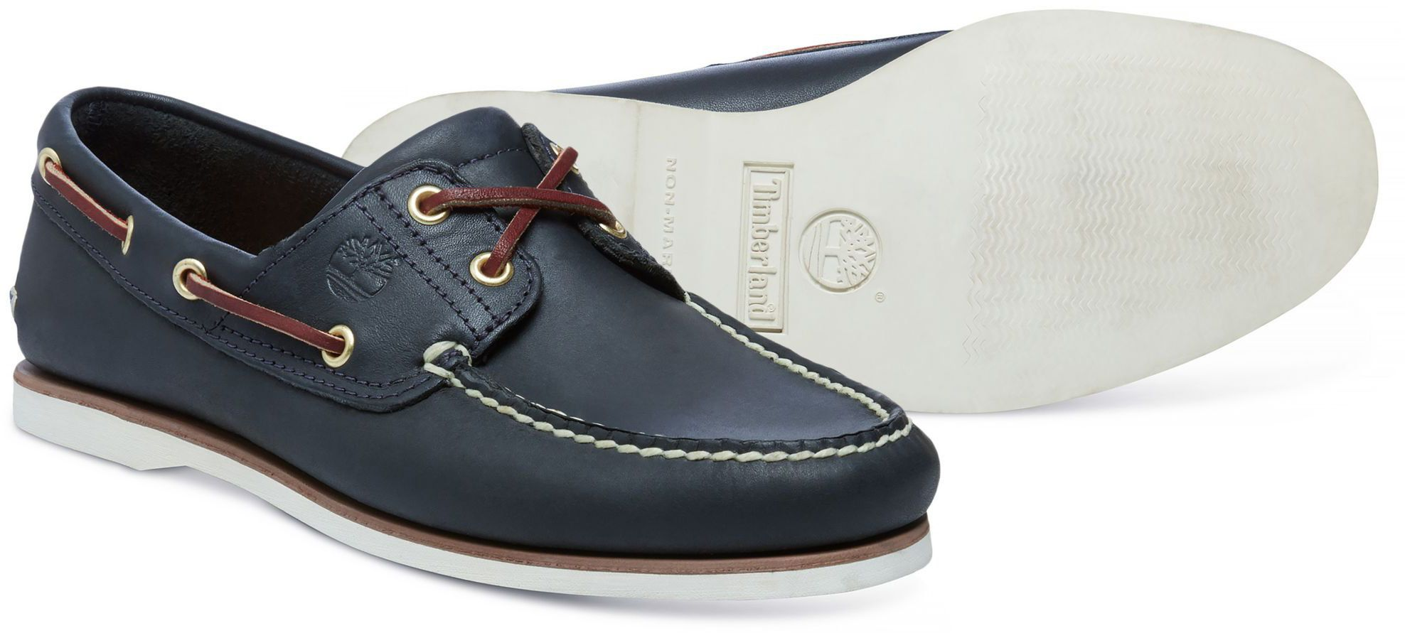 0a0b5f94c88 Timberland Cls2i Boat Navy Mens Shoes UK 10 for sale online   eBay
