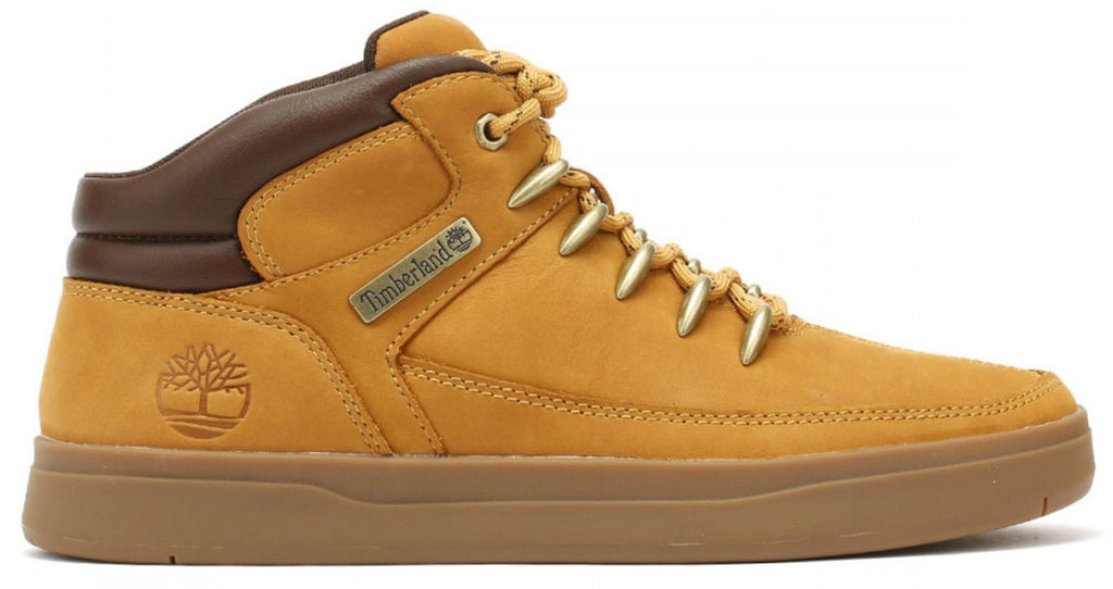 Timberland Davis Square Hiker High-top Trainers Yellow
