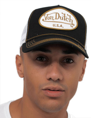 Von Dutch Trucker Baseball Cap Black