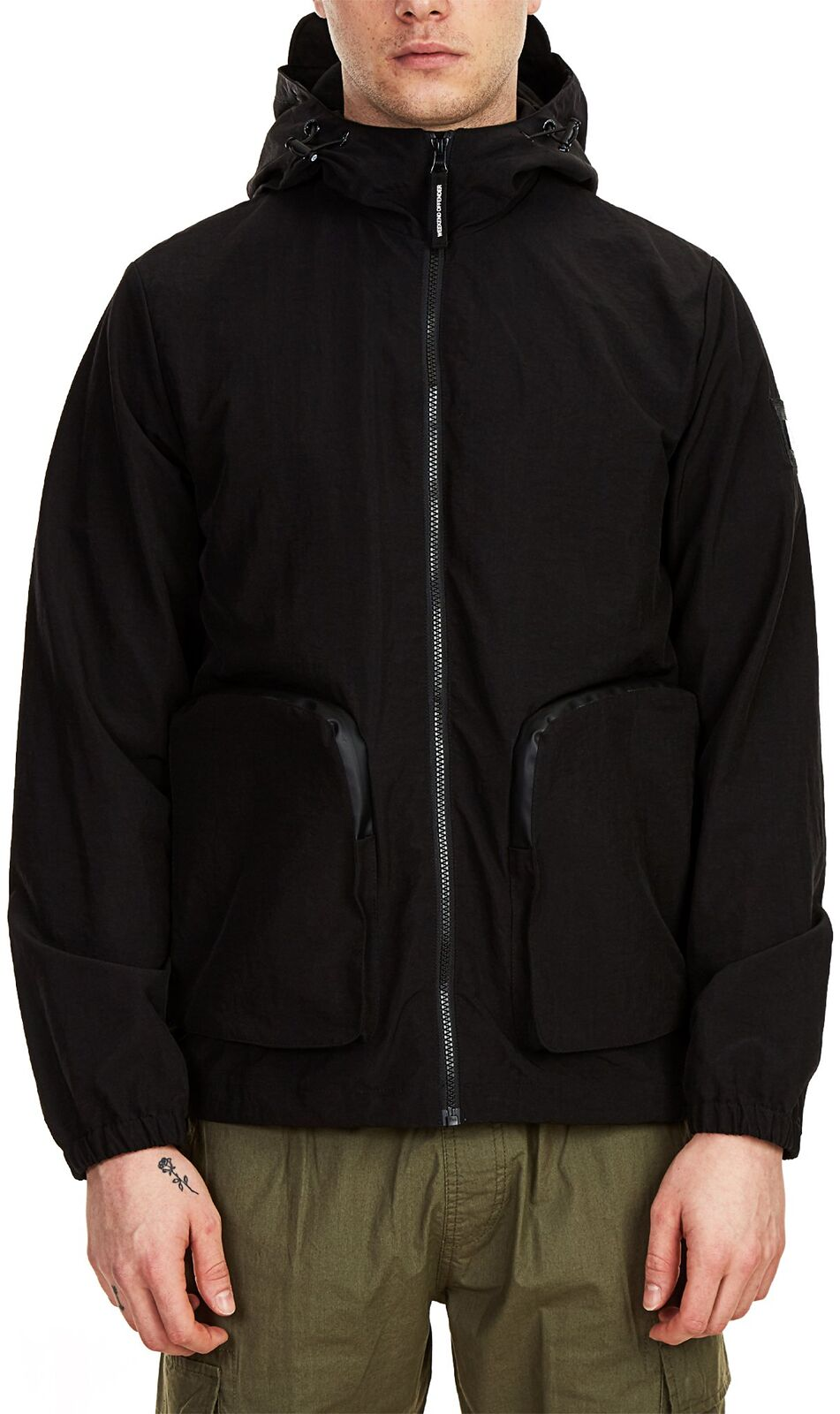 Weekend Offender Carbone Jacket Black