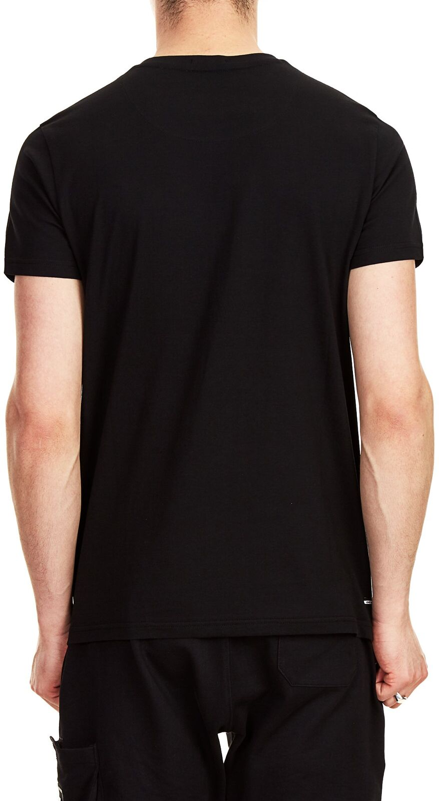 Weekend Offender Flare Printed T-Shirt Black
