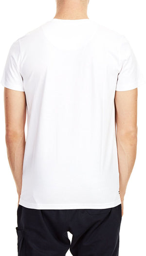 Weekend Offender Flare Printed T-Shirt White