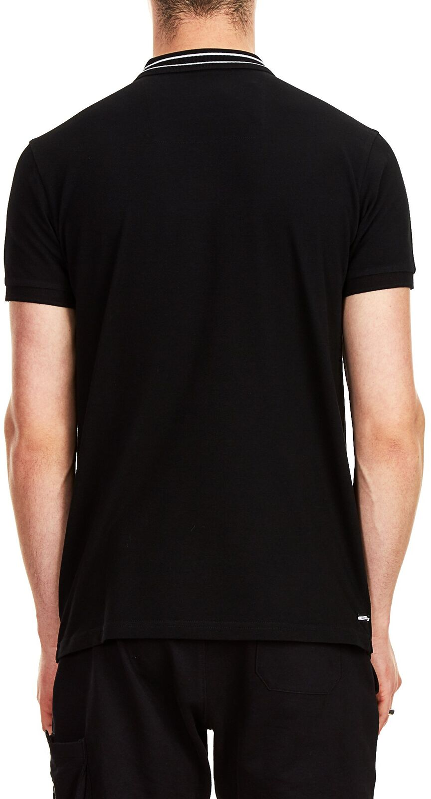 Weekend Offender Frankie Polo Shirt Black