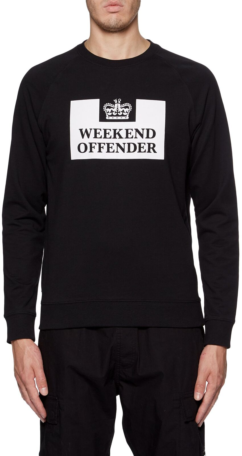 Weekend Offender Penitentiary Sweatshirt Black