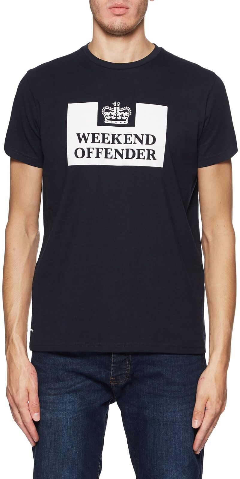 Weekend Offender Prison Classic T-Shirt Navy