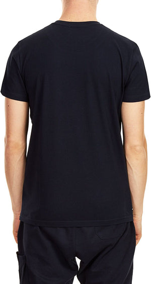 Weekend Offender Shaun Printed T-Shirt Navy