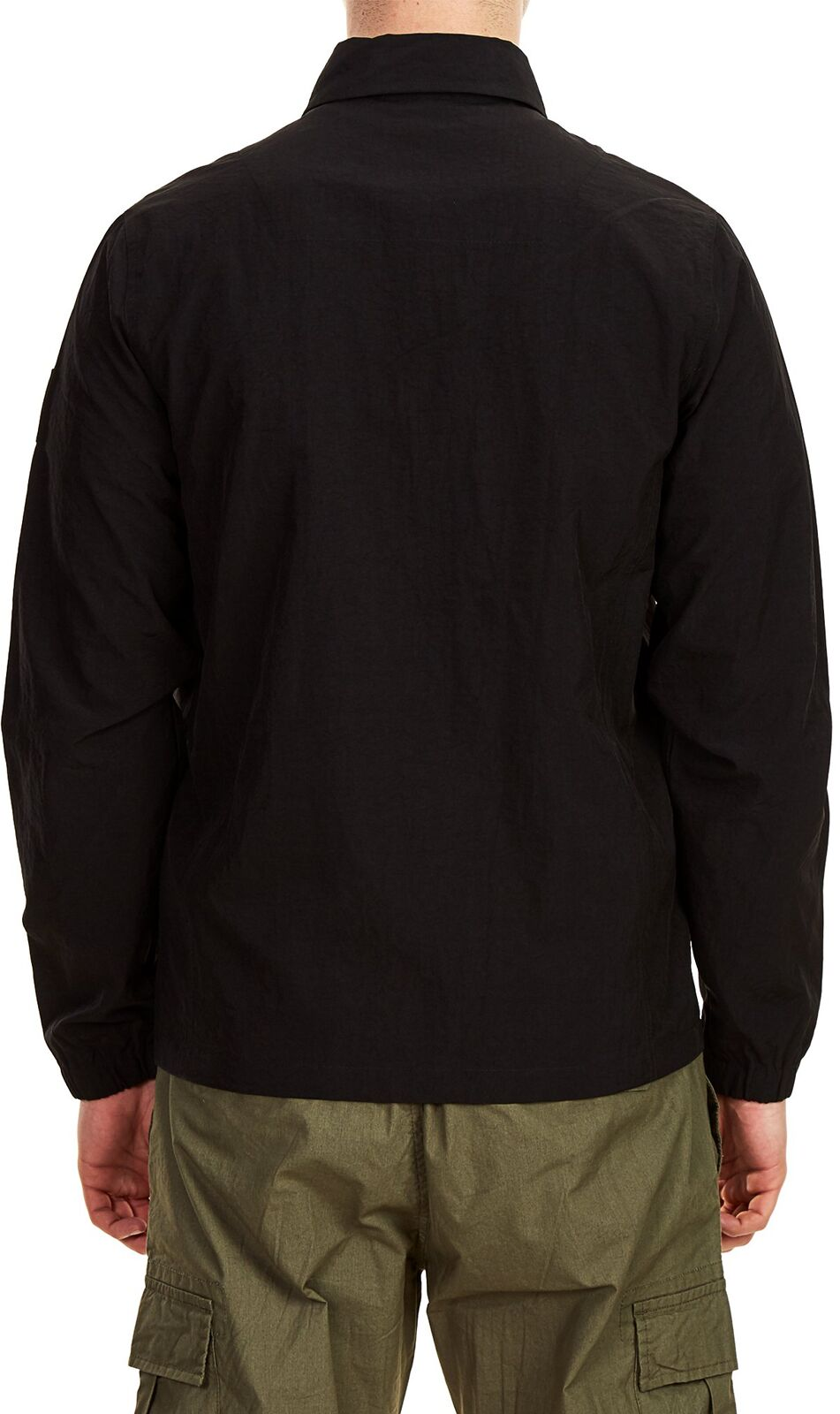 Weekend Offender Sorvino Overshirt Jacket Black