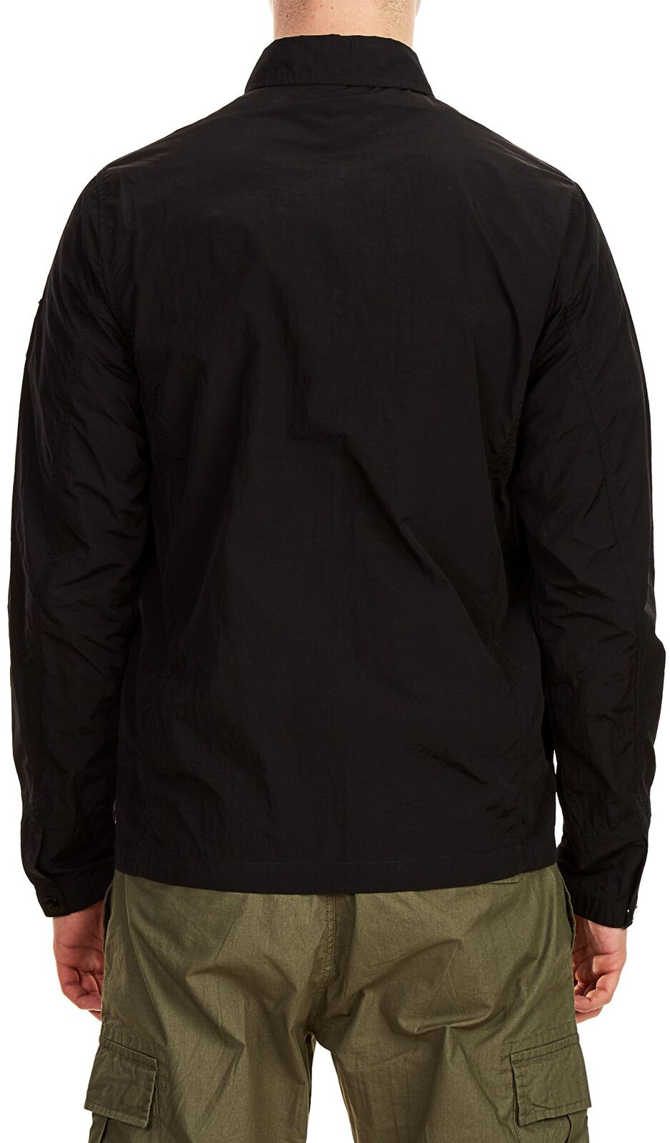 Weekend Offender Vinnie Overshirt Jacket Black