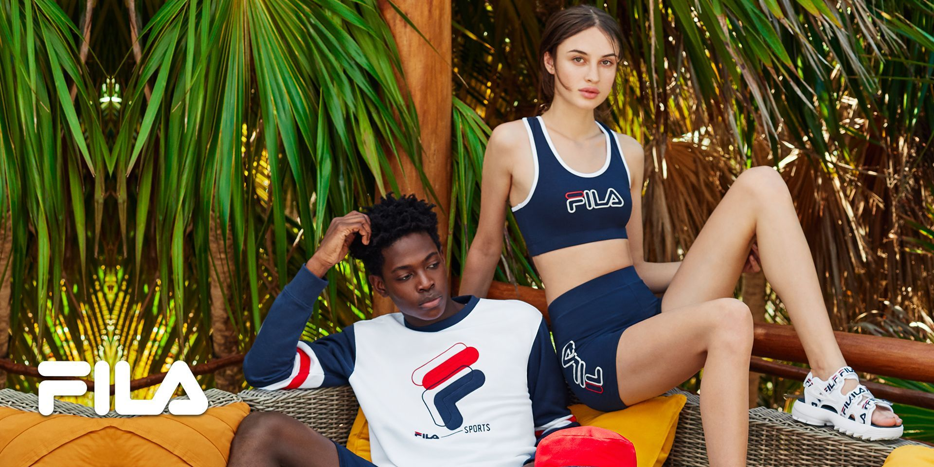 Shop Fila Clothing: Tees, Track Tops and Jackets