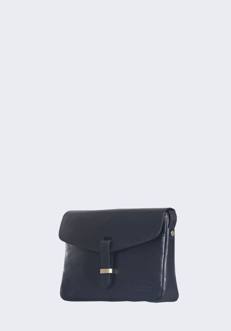 O MY BAG Ally Bag Midi Black