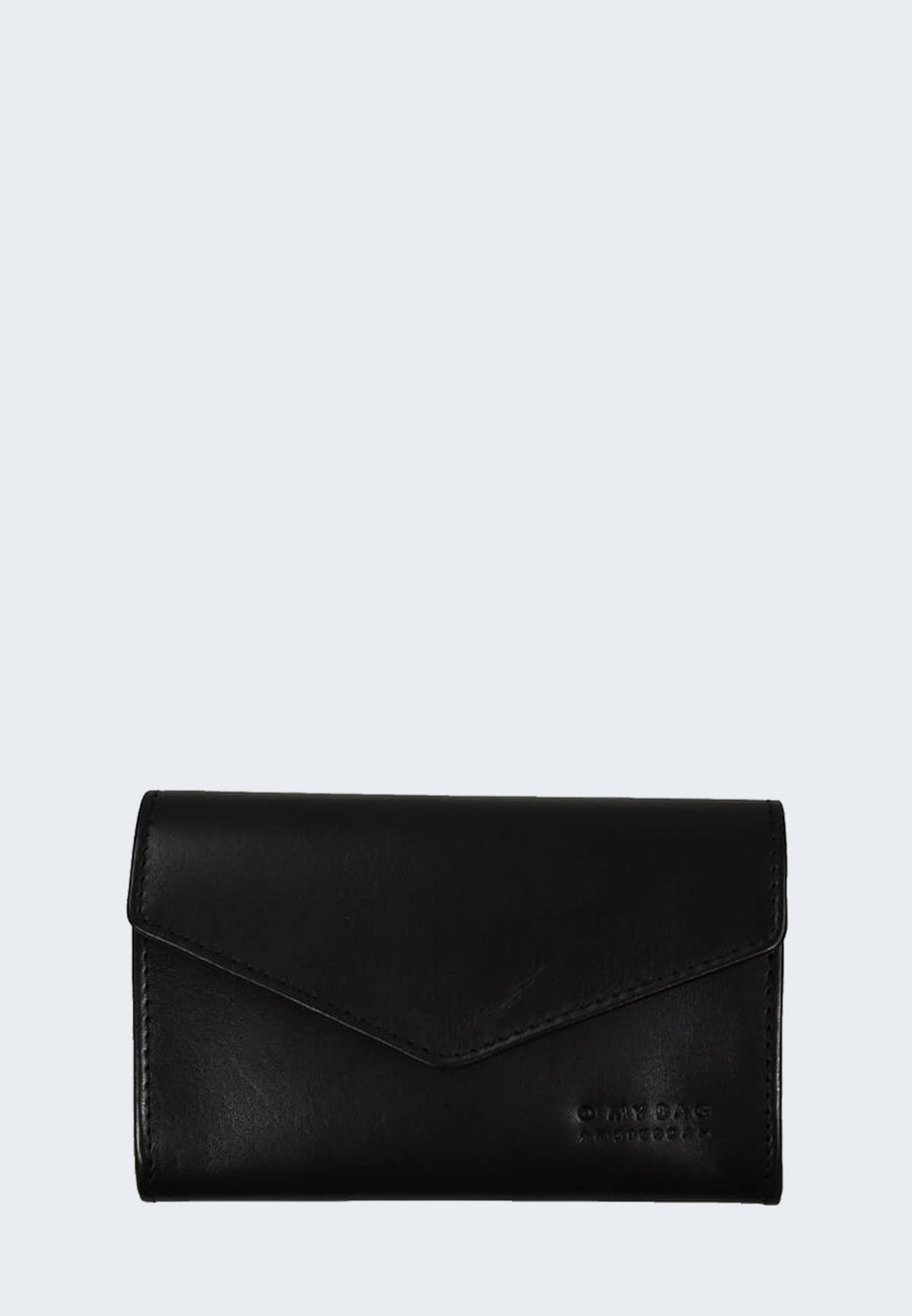 O MY BAG Jo purse black envelope