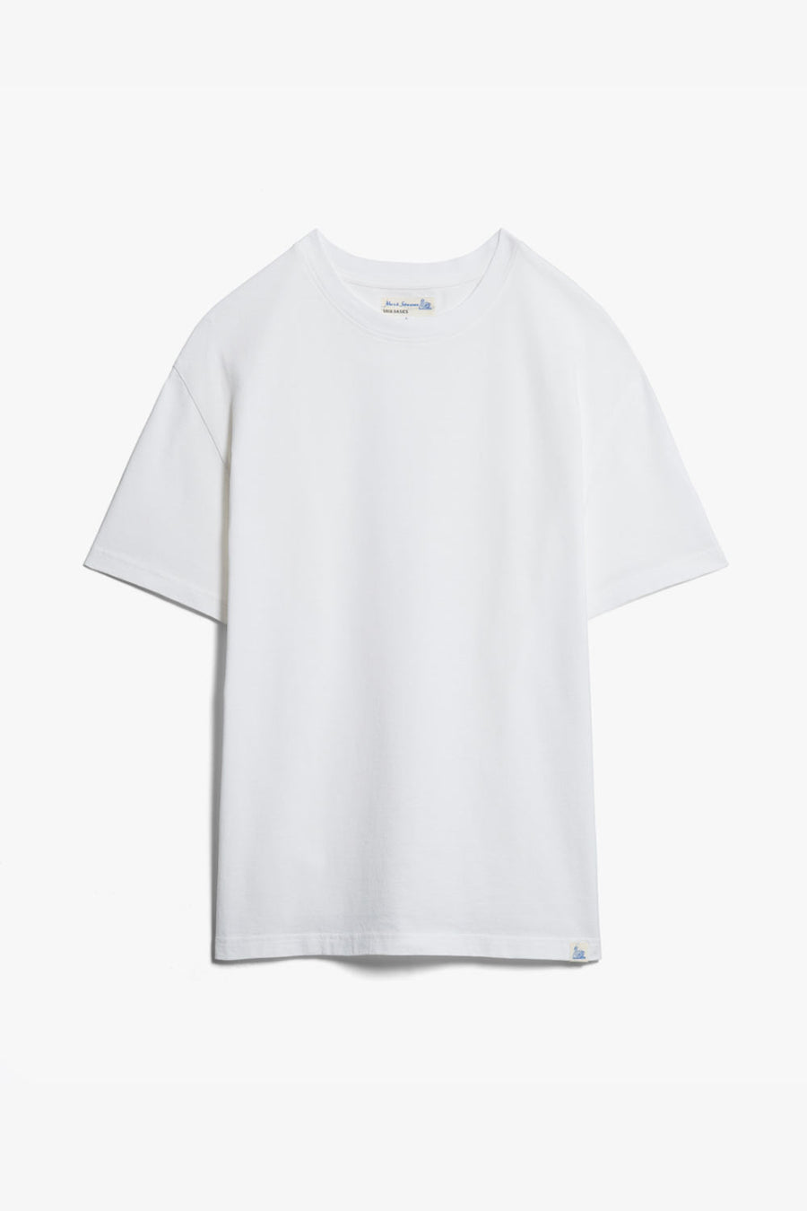 042 T-Shirt Merz B. Schwanen Weiß Good Basic Oversized