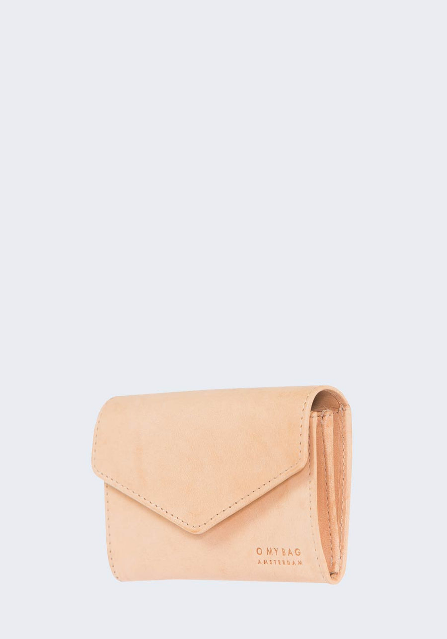 O MY BAG Jo purse natural envelope