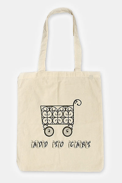 Totebag: ADD TO CART BAG | Artist: Derring Do - Accessories - Ingmar Studio