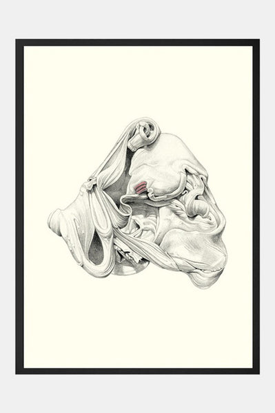 Art Print: AS THE CASE MAY BE | Artist: Oriana Fenwick - Artwork - Ingmar Studio