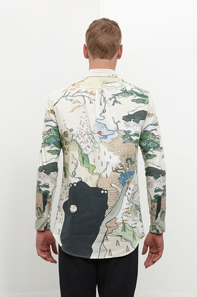 Shirt: THE MAP | Artist: Morta - Streetwear - Ingmar Studio  - 3