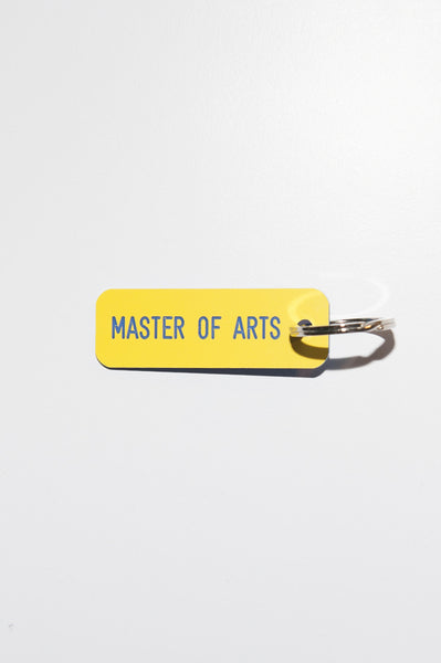 Keytag // MASTER OF ARTS - Ingmar Studio