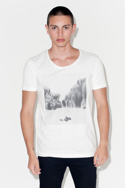 T-Shirt: WEEPING WILLOW 5 | Artist: Dukhoon Gim - Streetwear - Ingmar Studio