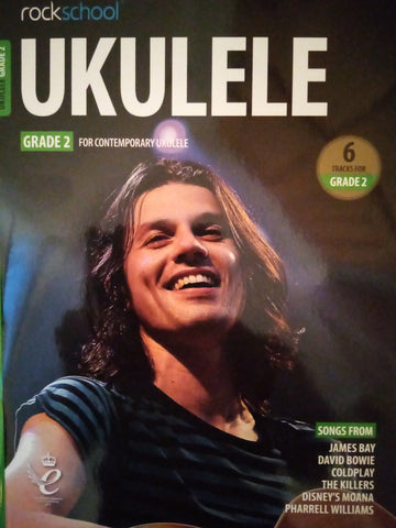 Rockschool Ukulele Grade 2 Book 2020 Version