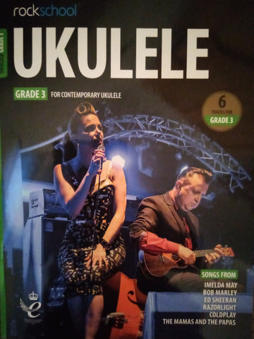 Rockschool Ukulele Grade 3 Book 2020 Version