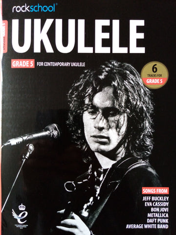 Rockschool Ukulele Grade 5 Book 2020 Version