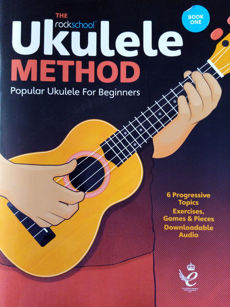 The Rockschool Ukulele Method 1 Book One