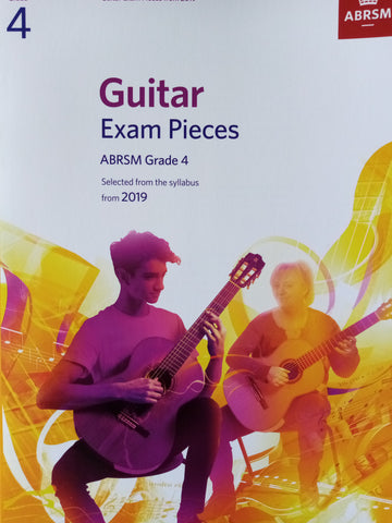 ABRSM Guitar Exams Grade 4 Book 2019 Syllabus