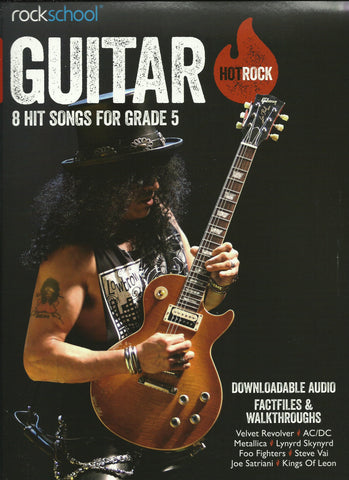 Rockschool Hot Rock Guitar Grade 5 Book Free Choice Pieces