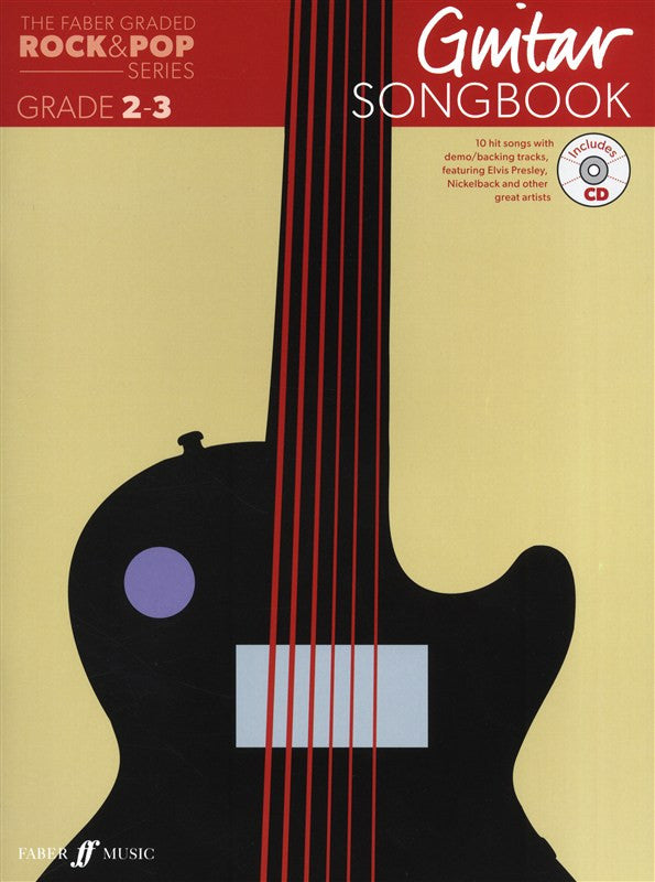 Faber Graded Free Choice Guitar Song Book For Grade 2 and 3