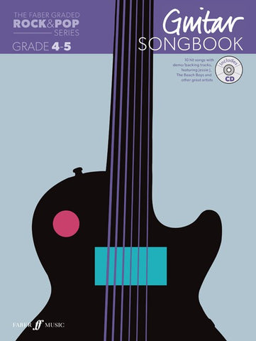 Faber Graded Free Choice Guitar Song Book For Grade 4 and 5