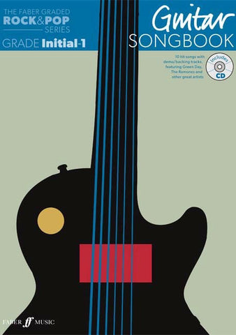 Faber Graded Free Choice Guitar Song Book For Initial and Grade 1 One