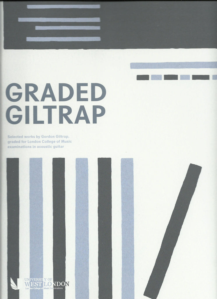 Graded Giltrap acoustic guitar tab book front