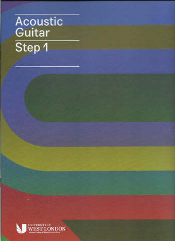 RGT LCM Acoustic Guitar Playing Initial Step 1 Grade Book