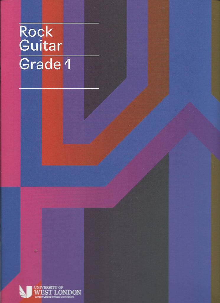 rgt lcm rock guitar grade 1 book