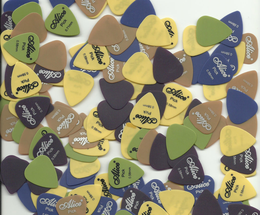 Assorted Types Of Guitar Picks/Plectrums