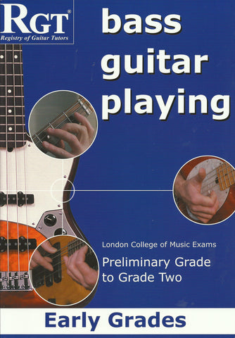RGT Bass Guitar Playing Early grades front