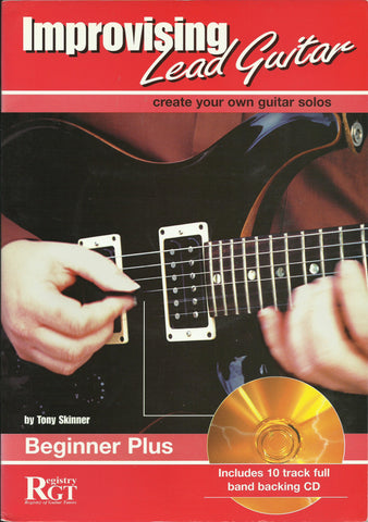 rgt improvising lead guitar beginner plus front