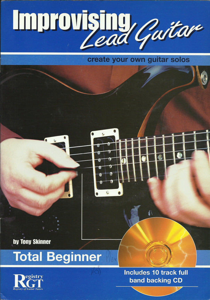 rgt improvising lead guitar total beginner front