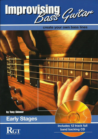 RGT Bass Guitar improvising early grades front