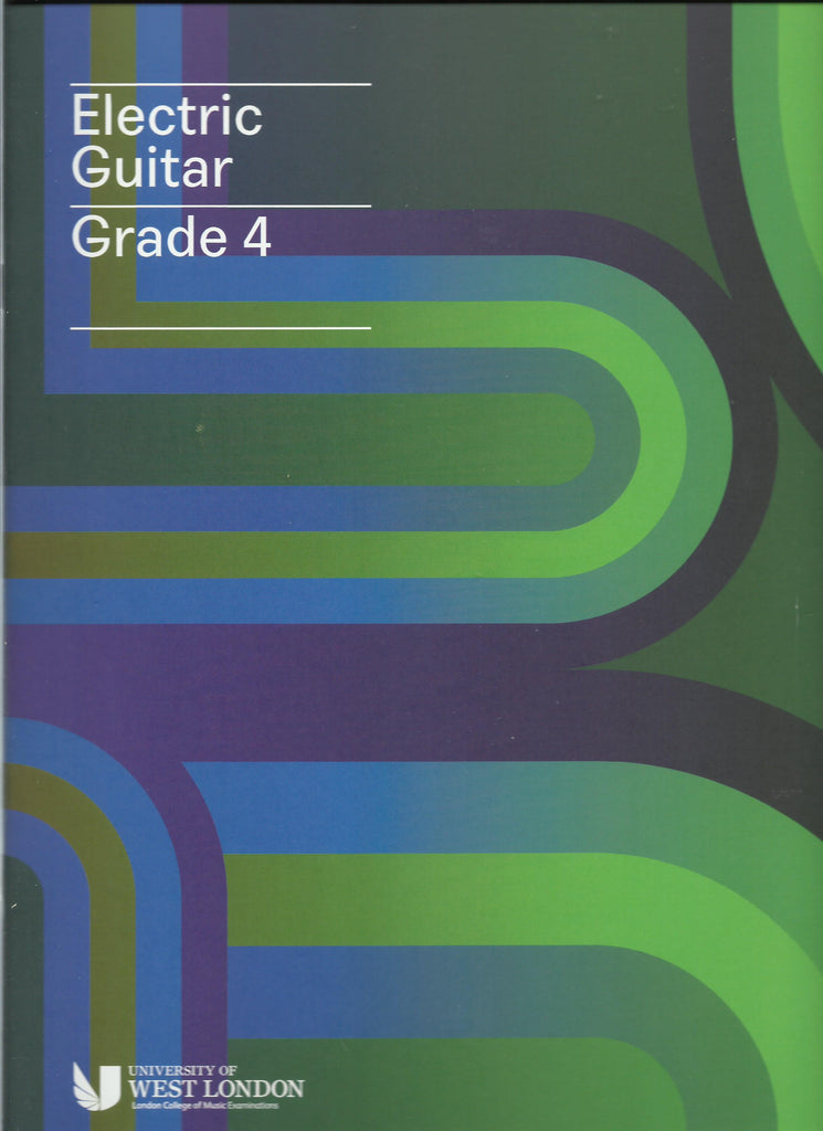 lcm rgt electric guitar grade 4 four book