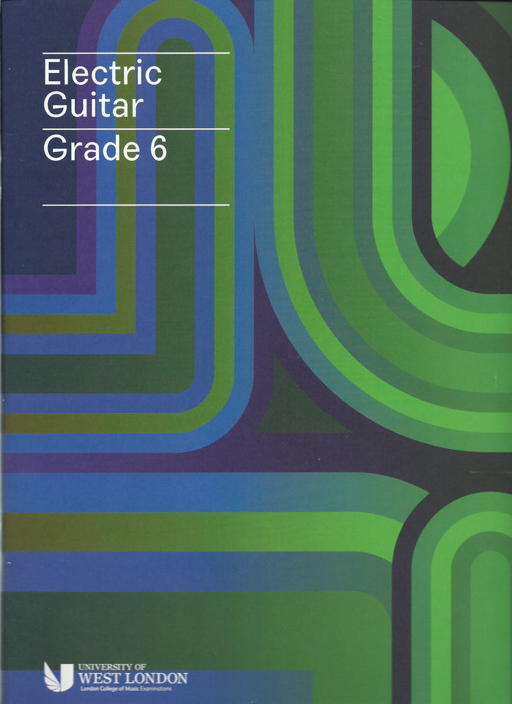 lcm rgt electric guitar grade 6 six book
