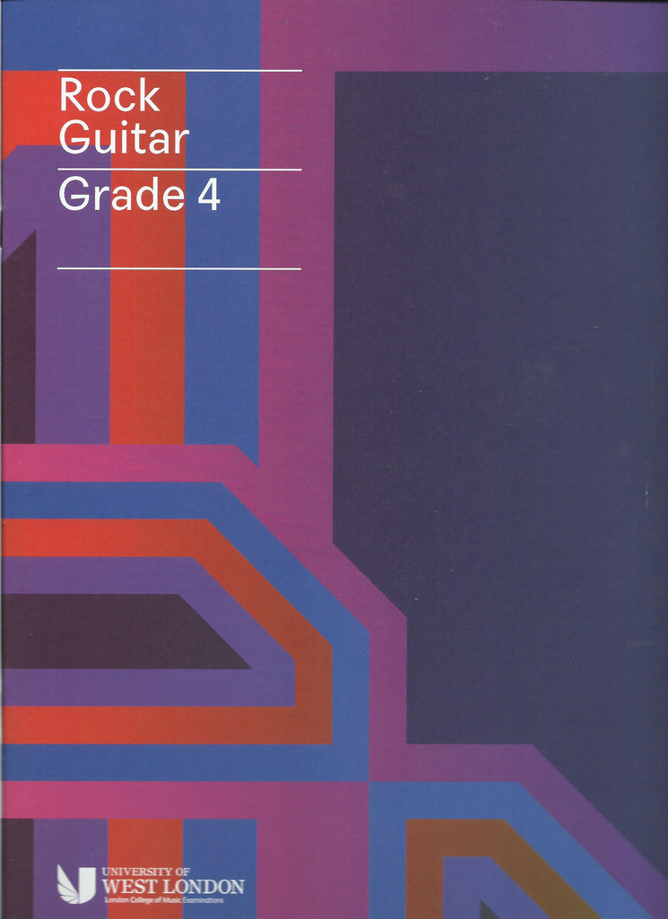 lcm rgt ROCK guitar grade 4 FOUR book