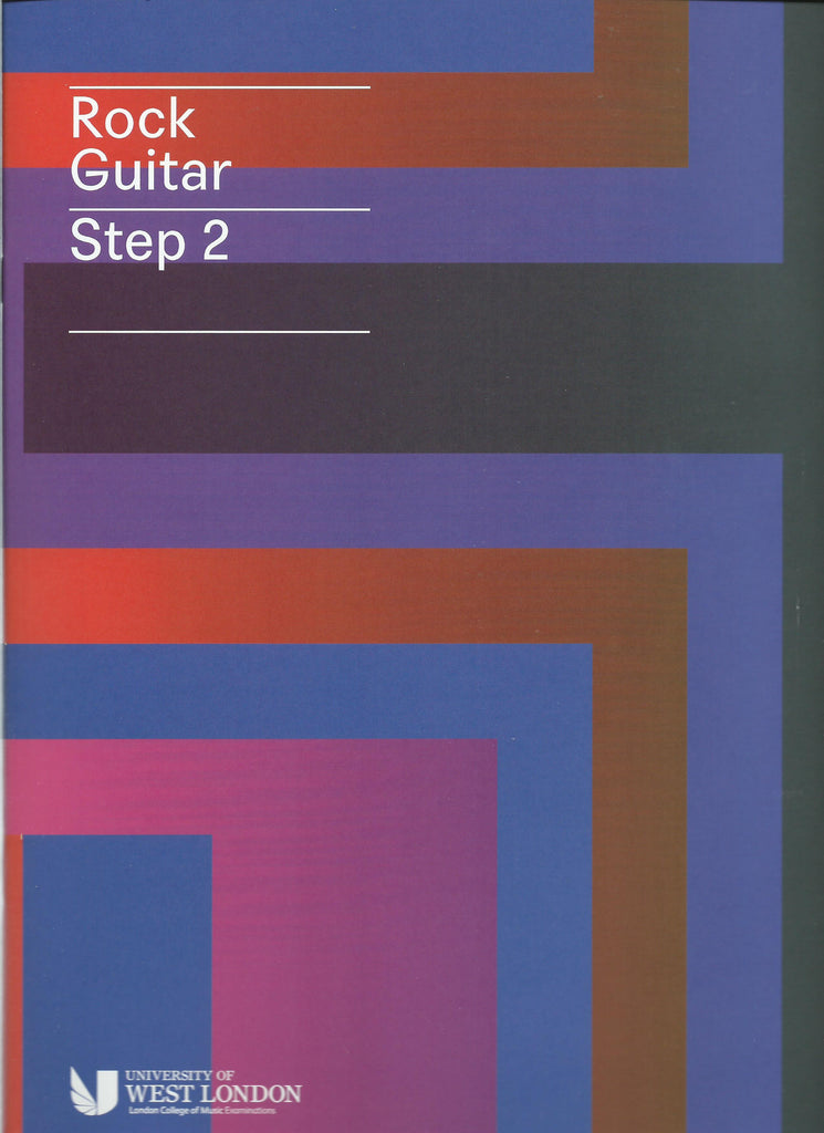 lcm rgt ROCK guitar preliminary grade  STEP 2 book
