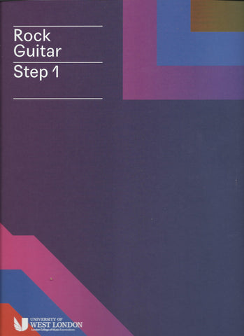 lcm rgt ROCK guitar  INITIAL grade  STEP 1 book