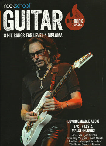 Rockschool Hot Rock Guitar Level 4 Diploma Book Free Choice Pieces