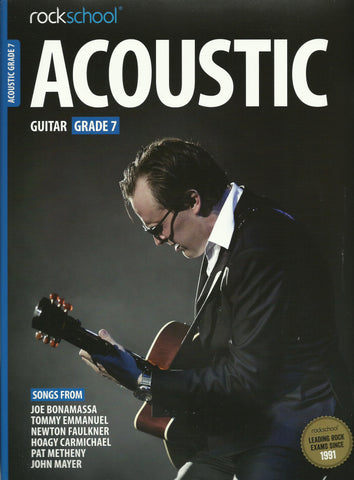 Rockschool Acoustic Guitar Grade 7 Seven Book