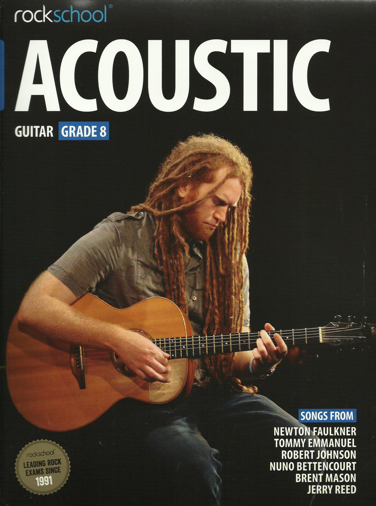 rockschool acoustic grade 8 back